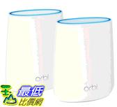 [COSCO代購] 促銷至12月4日 W1218354 Netgear Orbi 高效能AC2200三頻網狀WiFi延伸系統 (RBK22)