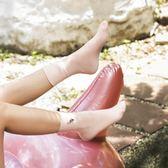 襪子3雙禮盒女純棉刺繡中筒襪日系學院風短筒韓版春秋季caramella
