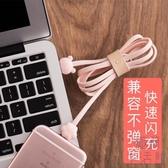 蘋果傳輸線卡通可愛快充手機充電器加長平板沖電【極簡生活】