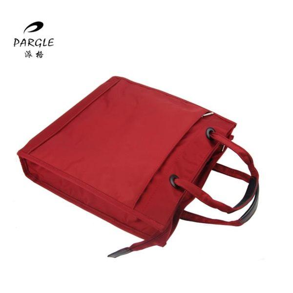 商務辦公用品多層手提文件袋文件包公文包時尚單肩電腦包男女 快速出貨