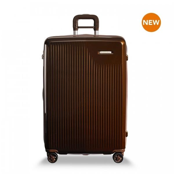 【BRIGGS & RILEY】SYMPATICO硬殼可擴充四輪行李箱30吋(琉金)