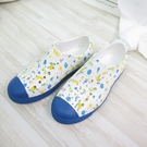Native JEFFERSON PRINT JUNIOR 大童洞洞鞋121001018970 藍【iSport愛運動】
