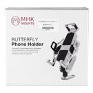 【東門城】MHK-C1 蝴蝶手機架後照鏡組