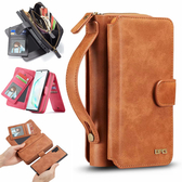 三星 Note10 Note10+ 手提拉鍊包 手機皮套 手機殼 插卡 錢包 手提 保護套