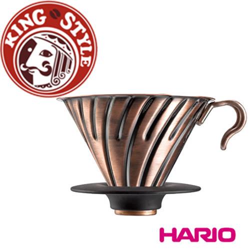 金時代書香咖啡 Hario V60紅銅金屬濾杯 1~4杯