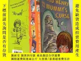 二手書博民逛書店horrid罕見henry and the mummy's curse 可怕的亨利和木乃伊的詛咒Y200392