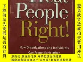 二手書博民逛書店treat罕見people right28622 treat p
