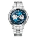 CITIZEN 星辰 光動能 BU4030-91L 手錶 藍/39.5mm