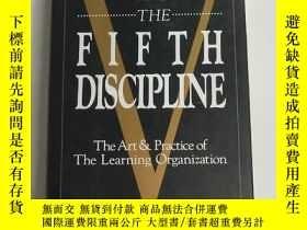 二手書博民逛書店THE罕見FIFTH DISCIPLINE:The Art Pr