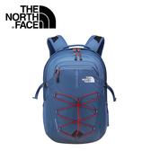 【The North Face 15吋電腦背包 月光藍/紅 】 NF00CHK4/電腦包/後背包/通勤包