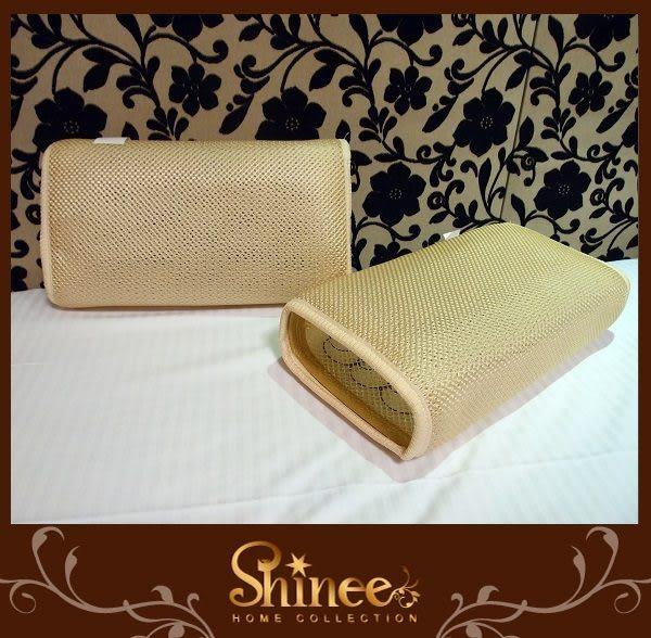 SHINEE《新世代3D通風透氣彈簧涼枕》《新世代高山茶葉記憶枕》夏季涼枕特價中~任選活動兩顆580元
