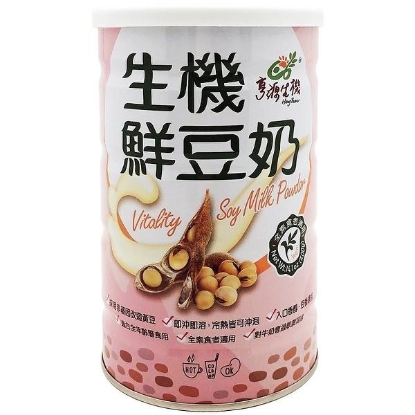 亨源生機~生機鮮豆奶400公克/罐