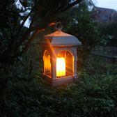 太陽能燈 新太陽能蠟燭風燈 仿真搖擺蠟燭吊燈太陽能光控壁燈 仿古蠟燭風燈 唯伊時尚