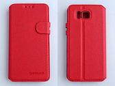 gamax Samsung GALAXY ALPHA 4G LTE 全頻通(SM-G850Y) 磁扣荔枝紋側翻手機保護皮套 側立 商務二代 內TPU