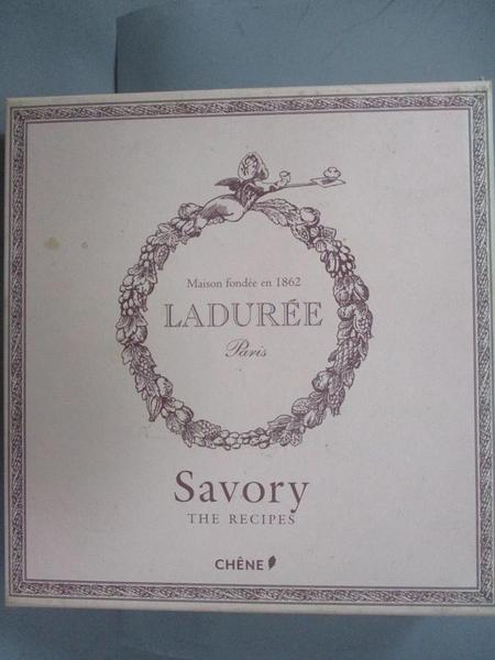【書寶二手書T4/餐飲_BGH】Laduree: The Savory Recipes_Lerouet, Michael