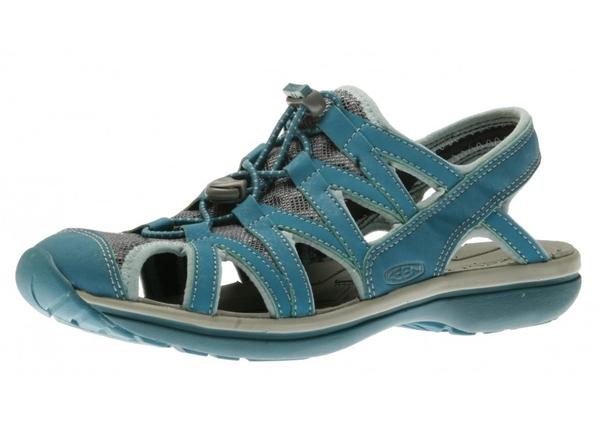 [好也戶外] KEEN Sage Sandal女款織帶涼鞋-藍綠/桃紅 No.1014684/1014685(75折出清)