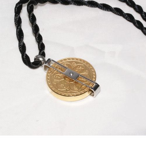 【藏傳佛教文物】時來運轉觀音心咒項鍊-(PBN51)