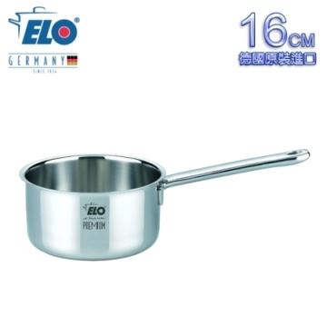 【南紡購物中心】《德國ELO》Multilayer 不鏽鋼單柄湯鍋(16CM)
