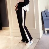 孕婦闊腿褲運動寬鬆孕婦褲子薄款外穿休閒