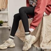 春秋季新款打底褲女秋褲緊身長褲百搭可外穿黑色灰色褲子 至簡元素