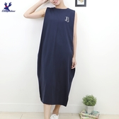 【秋冬新品】American Bluedeer - 繡A字洋裝 二色