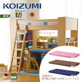 【KOIZUMI】兒童日規床墊(3色可選)