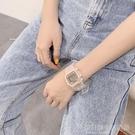 ins超火的手錶女學生韓版簡約潮流運動休閒大氣防水獨角獸電子錶 設計師生活百貨