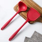 居家家烙餅硅膠鏟耐高溫鍋鏟廚房炒菜鏟子不粘鍋專用炒勺家用廚具 後街五號