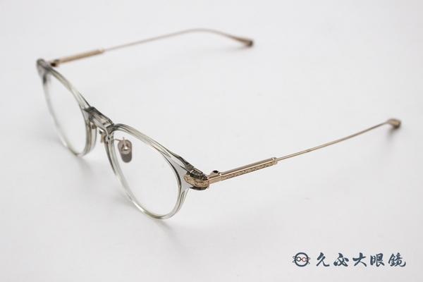 MASUNAGA 增永眼鏡 日本手工眼鏡 β鈦 經典框型 近視鏡框 APUS #34 #透明灰