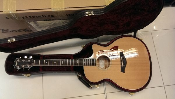 【金聲樂器】美製 Taylor 514CE 電木民謠吉他 2015年新款 514 CE