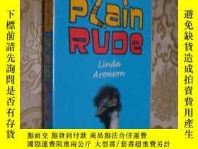 二手書博民逛書店Plain罕見Rude: Story of love,life