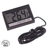 電子 數字式 溫濕度計 溫度計 濕度計 冰箱 水族箱 溫度計 外置探頭 時間功能(16-244)