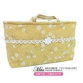 ~Mita ~MI 0219 嬌嫩可愛小花防潑水蕾絲LACE 收納袋中袋包中包手提包收納袋