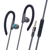 【鼎立資訊】E-books S34 運動型音控接聽氣密耳機 支援Android/iPhone/iPad 麥克風接聽功能 (廣)