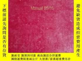 二手書博民逛書店Products罕見for Synthesis Manual 85 86合成產品手冊Y321761