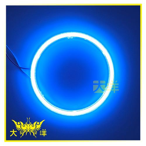 ◤大洋國際電子◢ 1186 81燈 COB天使眼光圈+PC保護套 11cm 車燈 車頭燈