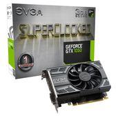 艾維克EVGA GTX1050 3GB SC GAMING ACX2.0 GDDR5 PCI-E圖形卡