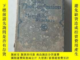 二手書博民逛書店siht罕見unseen and the confession by mary roberts rinehart奇