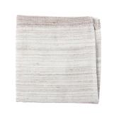 和風竹纖維紗布彩虹小手巾(棕) 25x25cm