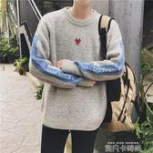 木林先生男士慵懶風毛衣韓版潮流情侶寬鬆秋季長袖外套針織衫冬季 依凡卡時尚