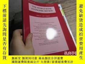 二手書博民逛書店the罕見world bank economic review
