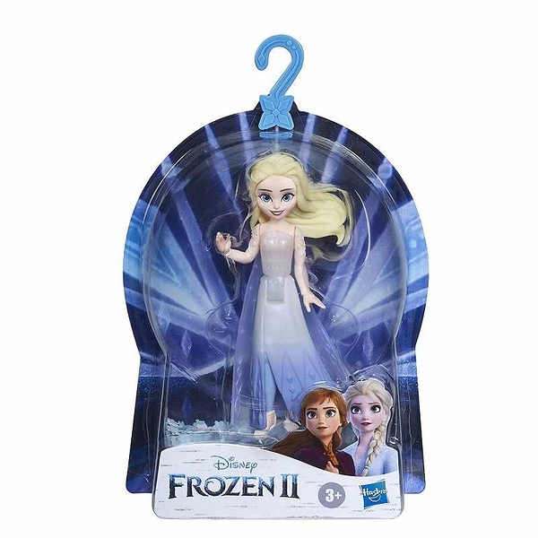 Disney Frozen 2 冰雪奇緣 艾莎娃娃 可拆卸斗篷 Queen Elsa Small Doll with Removable Cape Inspired[2美國直購]