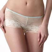 LADY 奧蕾莉系列 中低腰平口褲(蜂蜜黃)