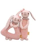 shiloh嬰兒安撫玩具搖鈴0-12個月寶寶鈴鐺布玩偶新生兒手搖鈴