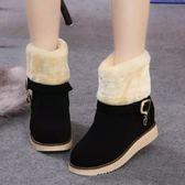 中筒雪靴-時尚氣質舒適保暖女厚底靴子3色73kg73[巴黎精品]