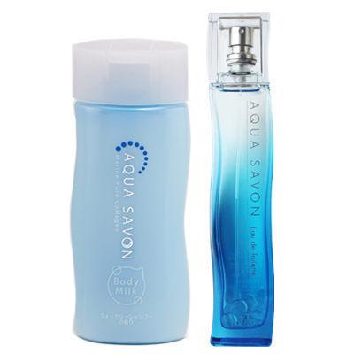 Aqua Savon 舒眠泡泡 體乳禮盒(淡香水80ml+身體乳200ml)【七三七香水精品坊】