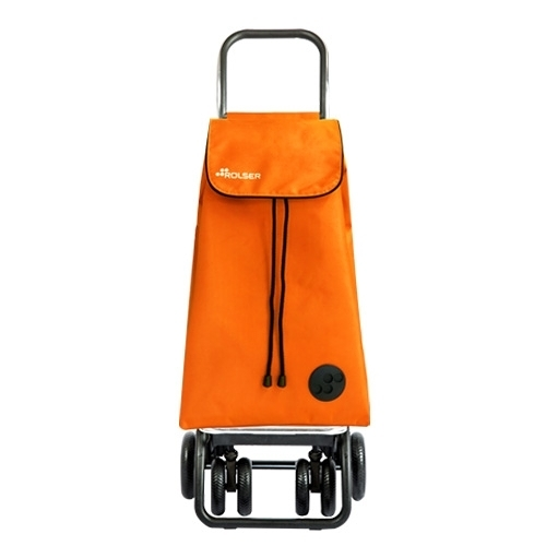 【ROLSER】TOUR可變四輪保冷時尚購物車(橘)-西搬移進口HOME WORKING總代理