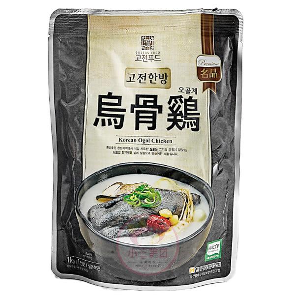 韓國 烏骨人蔘雞湯(1kg)【小三美日】