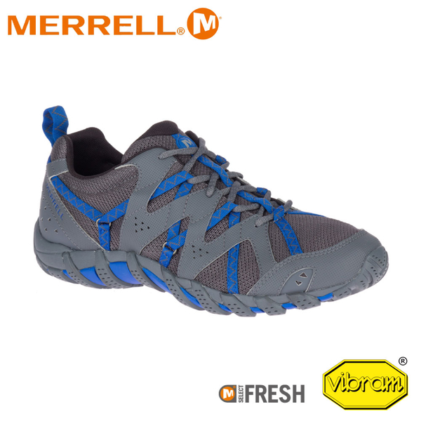 【MERRELL 美國 男 WATERPRO MAIPO 2水陸兩棲運動鞋《深灰/藍》】ML85905/水陸鞋