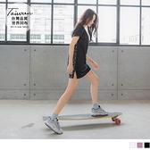 《KS0760》台灣製造.印花織帶拼接下襬開衩運動上衣 OrangeBear